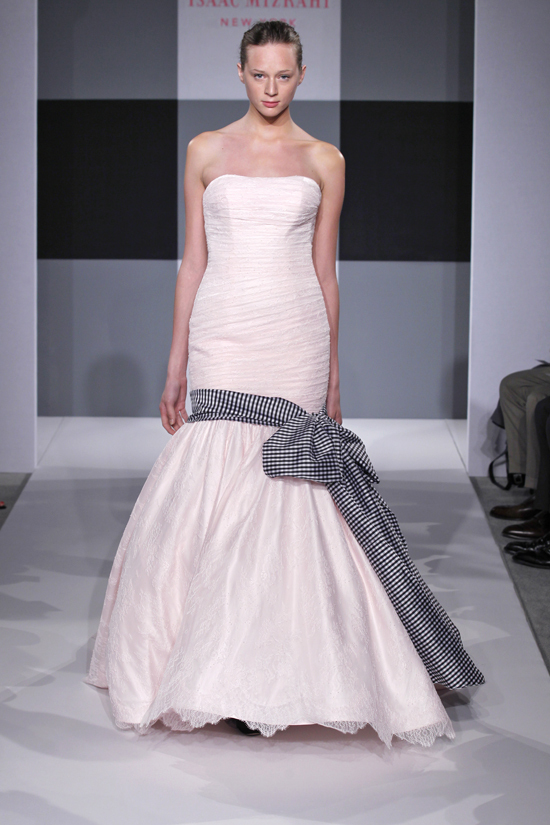 Spring 2013 wedding dress Isaac Mizrahi Spring 2013 bridal 4
