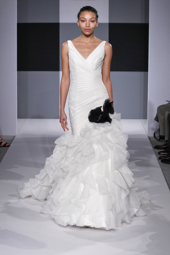 Spring 2013 wedding dress Isaac Mizrahi Spring 2013 bridal 8