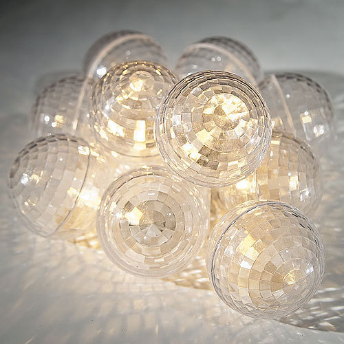 photo of L730 disco ball string lights