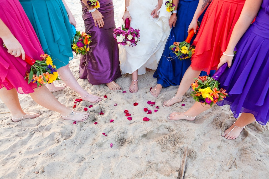 Outdoor-wedding-in-delaware-mix-and-match-bridesmaids-colorful.full