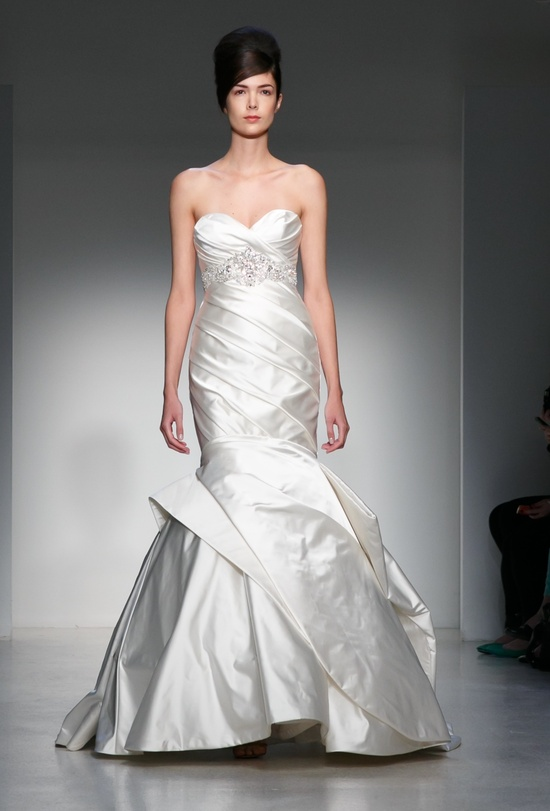 Fall 2013 Wedding Dress Kenneth Pool by Amsale bridal gowns 6