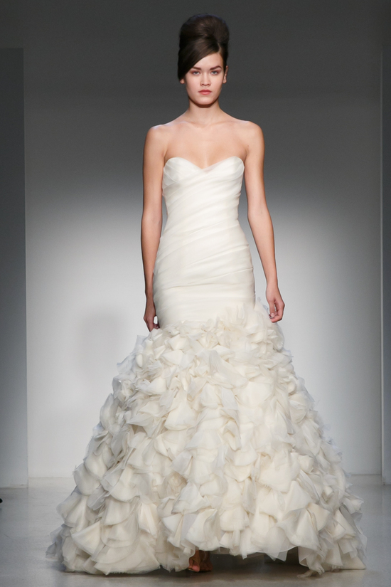 Fall 2013 Wedding Dress Kenneth Pool by Amsale bridal gowns 9