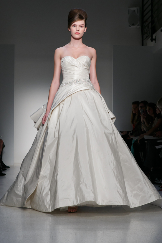 Fall 2013 Wedding Dress Kenneth Pool by Amsale bridal gowns 10