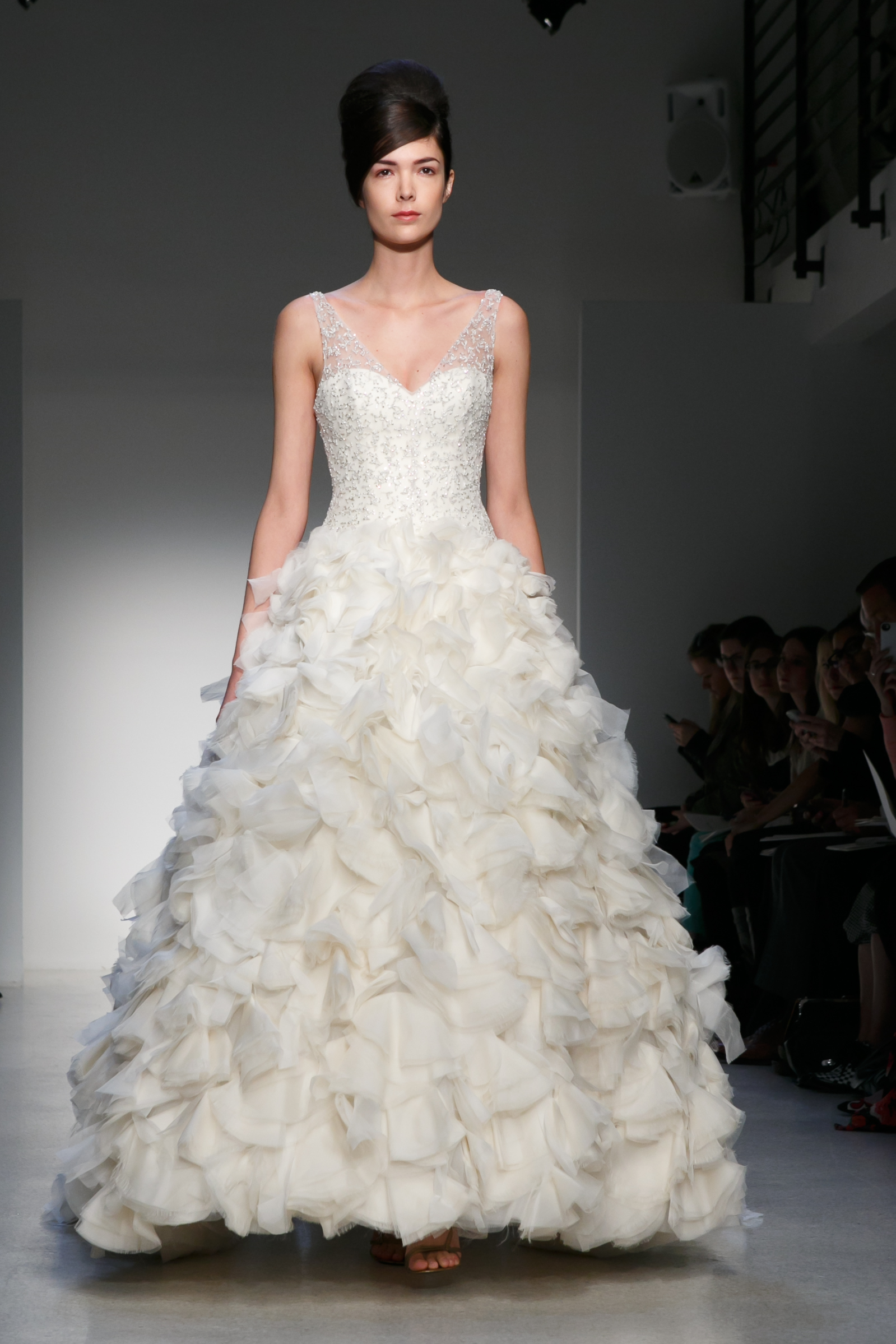 Wedding Dress Gemach New York : Fall wedding dress kenneth pool by amsale bridal gowns