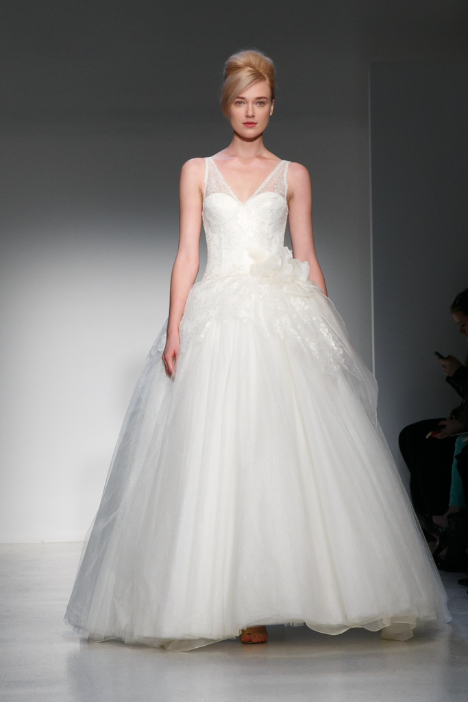 photo of Opulent Drama for the Bride Who Loves to Turn Heads: Kenneth Pool, Fall 2013