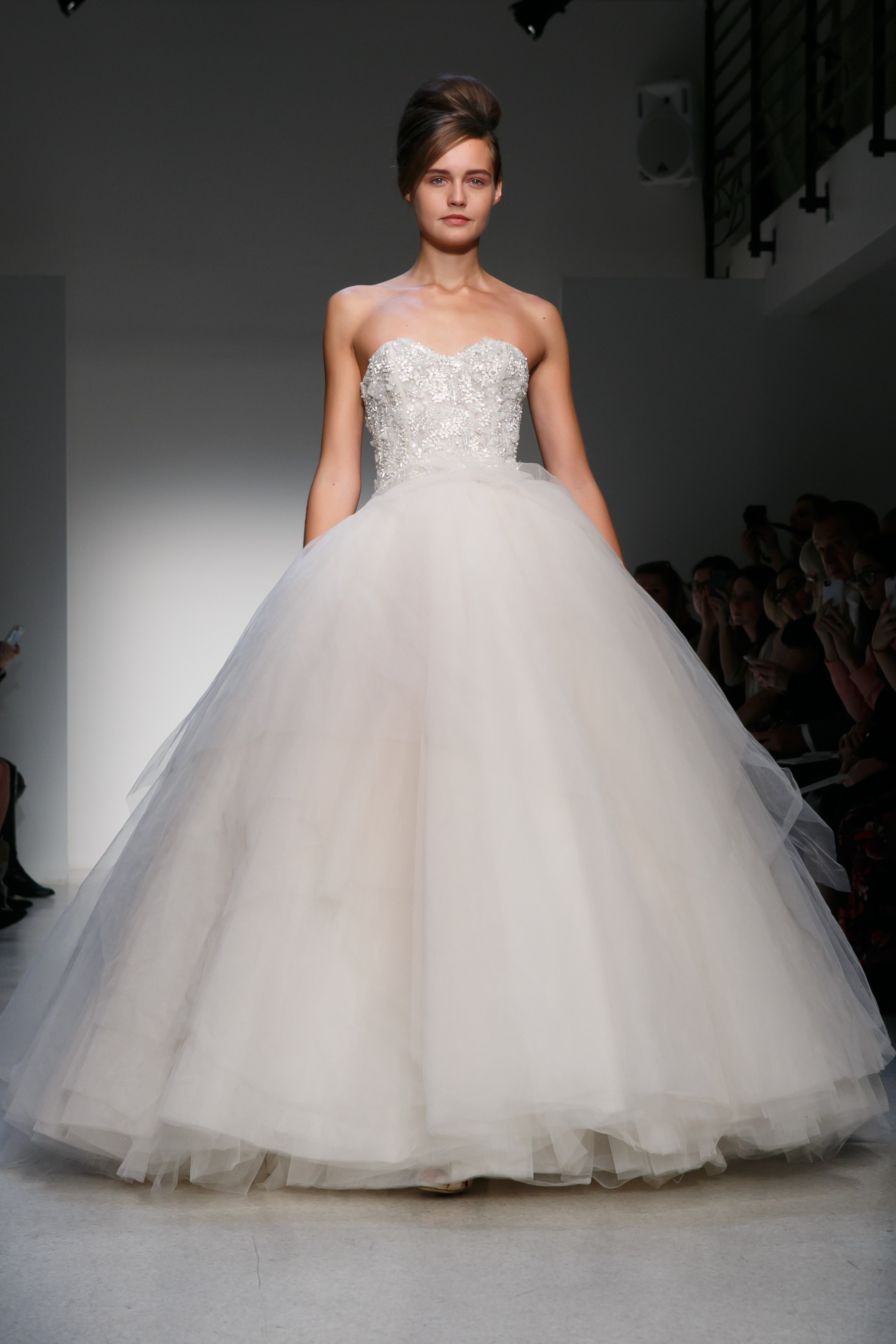 Fall 2013 wedding dress kenneth pool by amsale bridal for Amsale wedding dress price