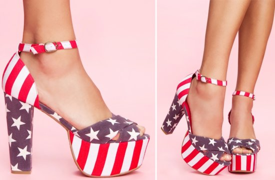 21 reasons to rock the vote patriotic wedding shoes