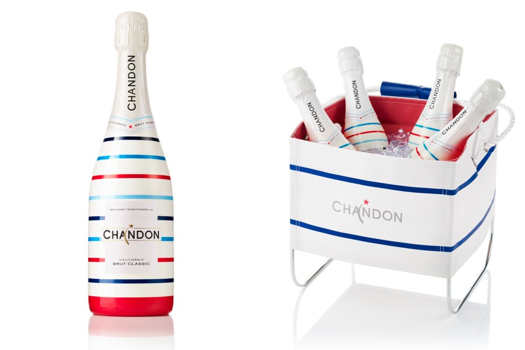 Rock the Vote Patriotic Wedding Inspiration Chandon Champagne