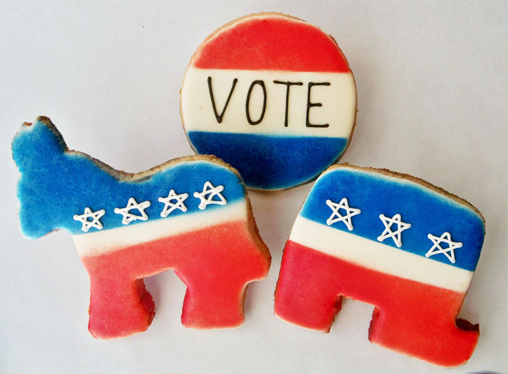 Election Day Inspiration for Patriotic Nearlyweds Cookies 2