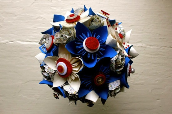 Election Day Inspiration for Patriotic Nearlyweds alternative bouquet