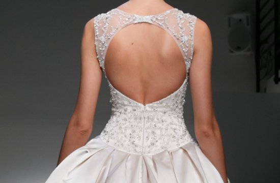 Wedding Dresses with Stunning Statement Backs Fall and Spring 2013 Bridal 1