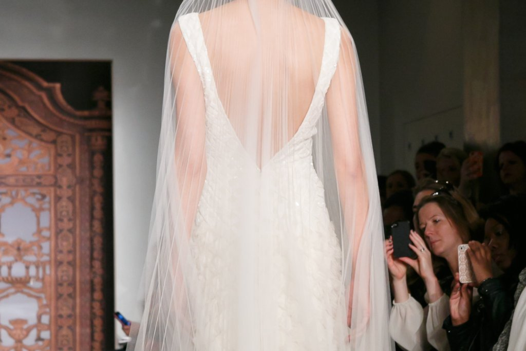 Fall 2013 Wedding Dresses with Statement Backs Reem Acra 2