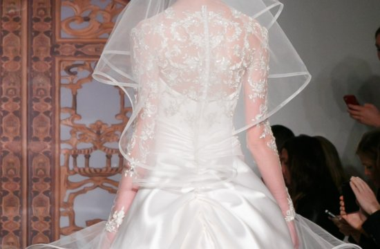 Fall 2013 Wedding Dresses with Stunning Statement Backs Reem Acra 9