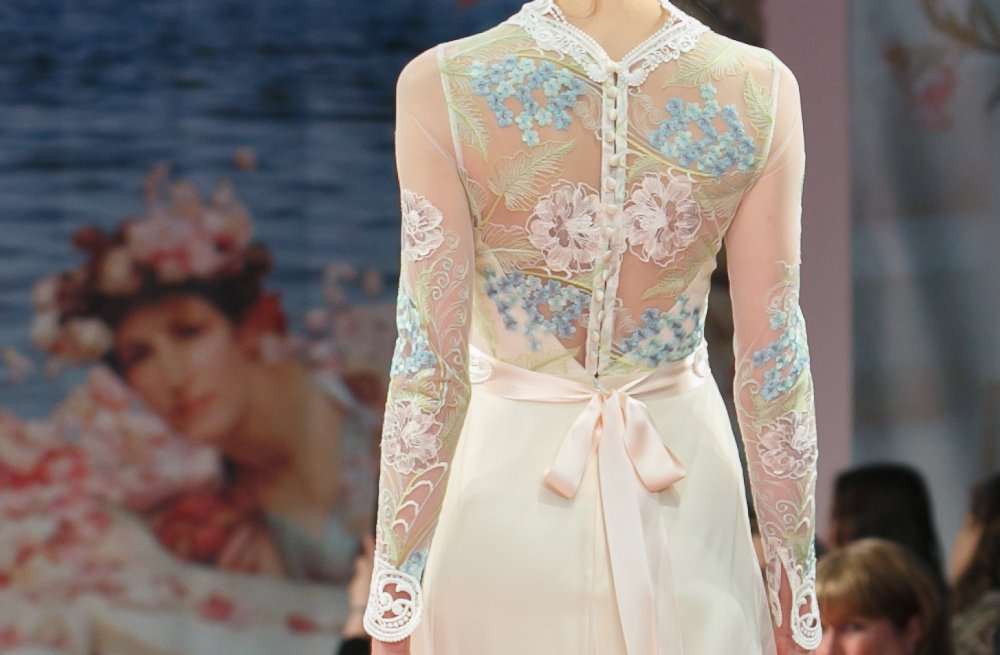 Fall 2013 Wedding Dresses with Stunning Statement Backs Claire Pettibone 1