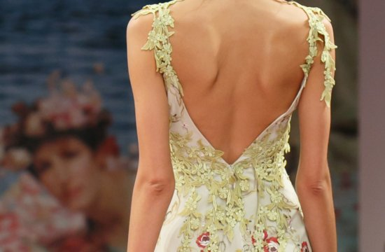 Fall 2013 Wedding Dresses with Stunning Statement Backs Claire Pettibone 4