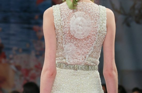 Fall 2013 Wedding Dresses with Stunning Statement Backs Claire Pettibone 6