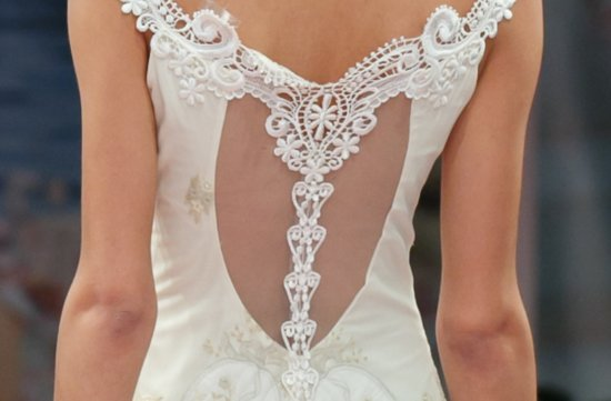 Fall 2013 wedding dress Claire Pettibone statement backs 7