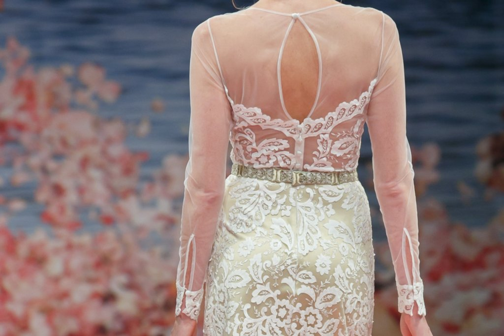 Fall 2013 Wedding Dresses with Statement Backs Claire Pettibone 9