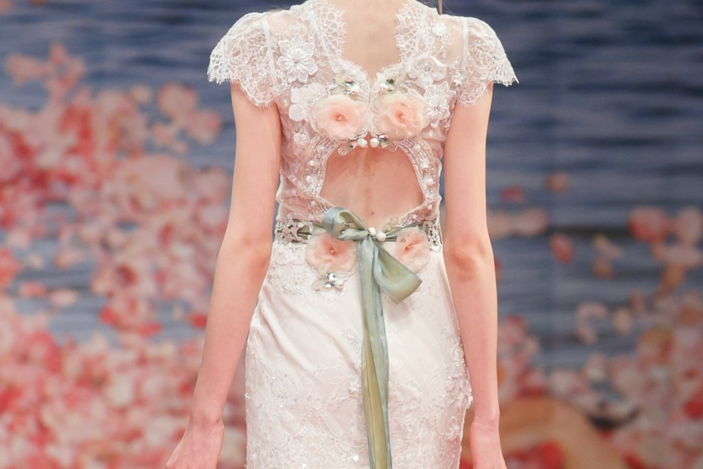 Fall 2013 Wedding Dresses with Statement Backs Claire Pettibone 12