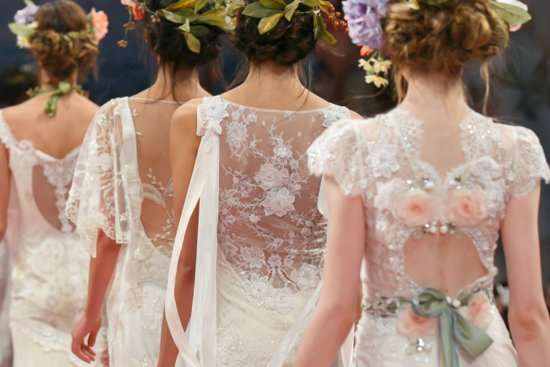 Fall 2013 Wedding Dresses with Statement Backs Claire Pettibone 13