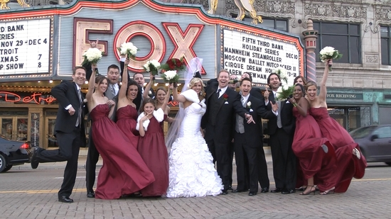 Bridal Party Fox Theater
