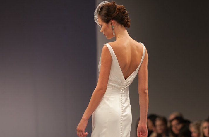 Fall 2013 Statement Back Bridal Gowns Anne Barge 1