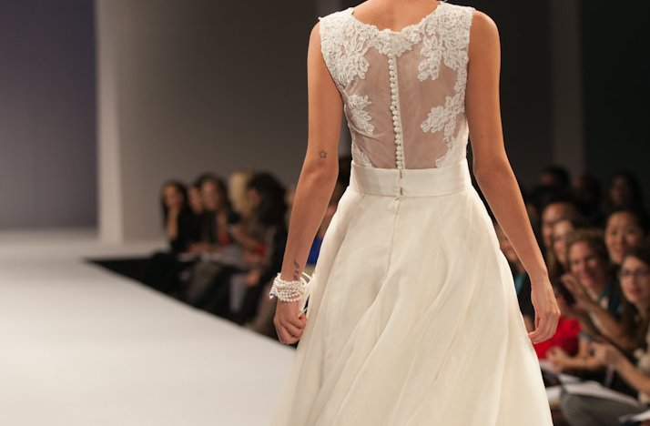 Fall 2013 Statement Back Bridal Gowns Anne Barge 3