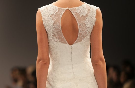 Fall 2013 Statement Back Bridal Gowns Anne Barge 2