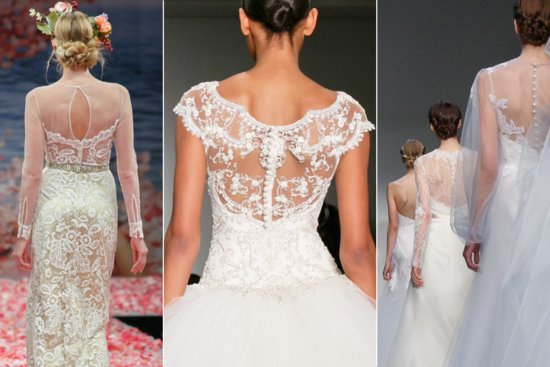 Wedding Dress Trends for Fall 2013 Statement Backs 2