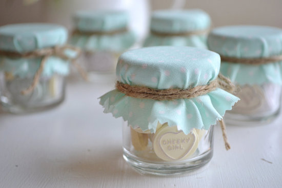 Wedding Inspiration Planning by Color Pale Light Blue favors