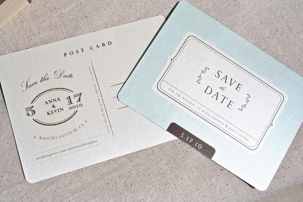 Wedding-inspiration-planning-by-color-pale-light-blue-shimmery-save-the-date.full