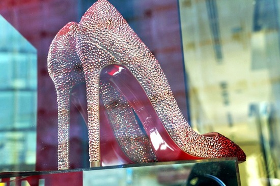 Racy Red Wedding Accessories for Passionate Brides Sparkly Louboutins