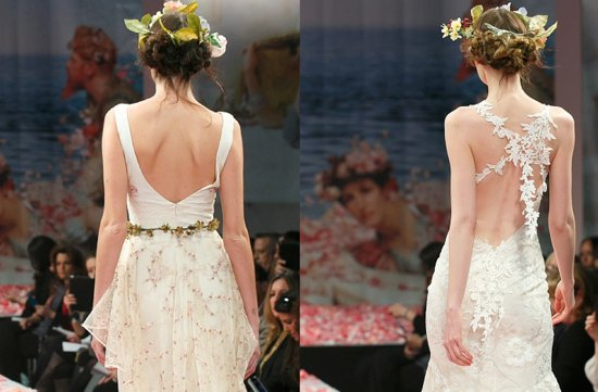 Claire Pettibone wedding hair inspiration