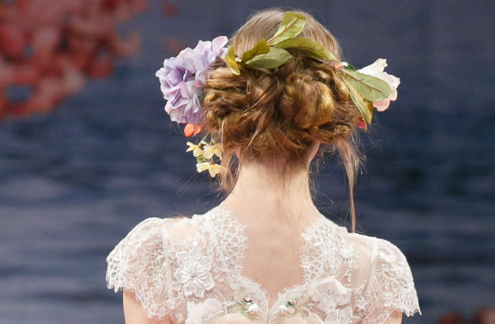 Wedding Hairstyle Trends Report Fall 2013 Bridal Claire Pettibone 1 ...