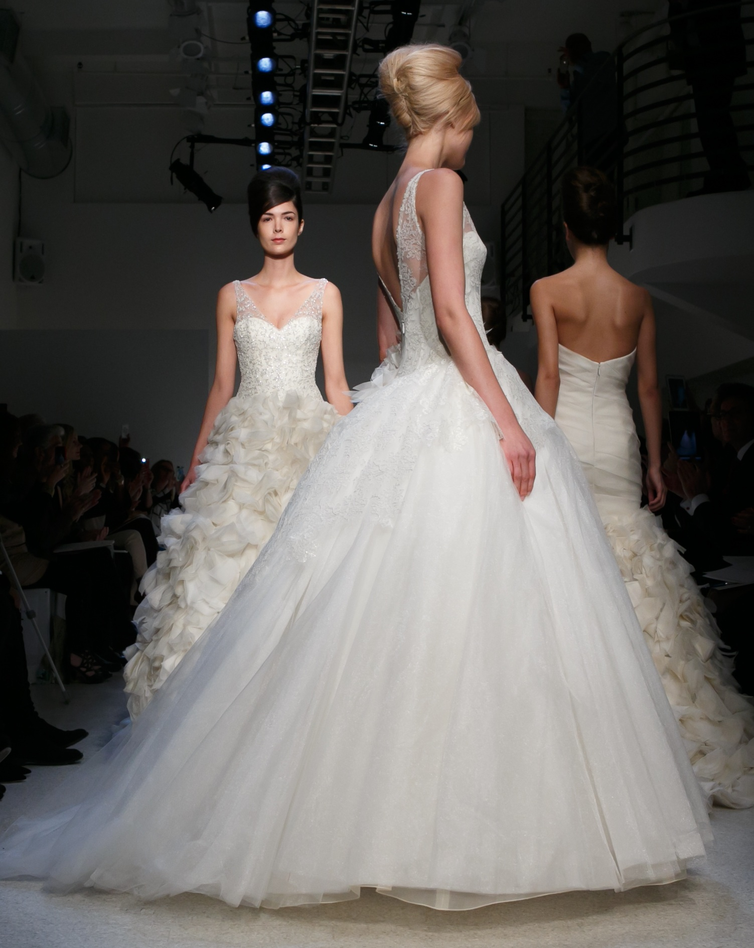 Wedding Hairstyle Trends from Fall 2013 Bridal elevated french twists ...
