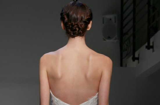 2013 wedding hairstyle trends bridal updo Christos braided