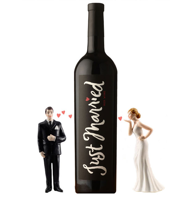 Creative Wedding Gifts For Couples : Creative Wedding Gifts for Wine Loving Couples OneWed.com
