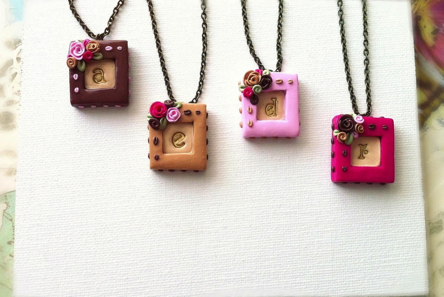 Unique Wedding Gifts For Bridesmaids : Unique-wedding-gifts-for-bridesmaids-initial-jewelry-accessories-3 ...