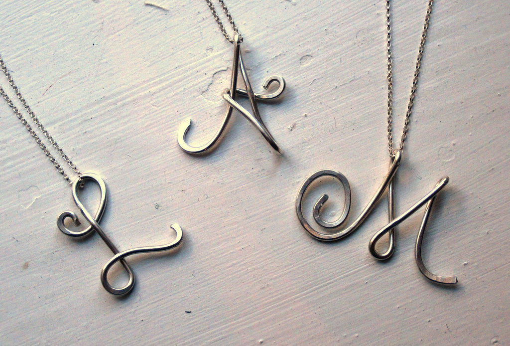 Unique Wedding Gifts for Bridesmaids Initial Jewelry Accessories 5