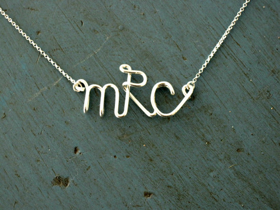 Unique Wedding Gifts for Bridesmaids Initial Jewelry Accessories 6