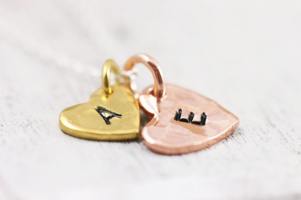 Unique Wedding Gifts for Bridesmaids Initial Jewelry Accessories 13