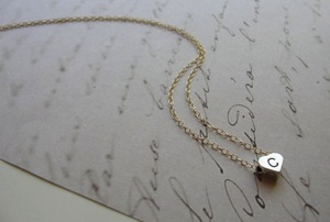 photo of Personalized Initial Jewelry to Thank Your Bridesmaids: 21 for Under $40
