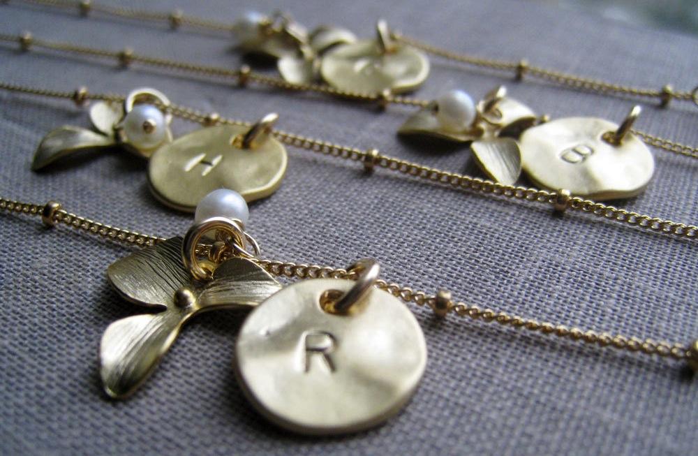 Unique Wedding Gifts For Bridesmaids : Unique Wedding Gifts for Bridesmaids Initial Jewelry Accessories 19 ...