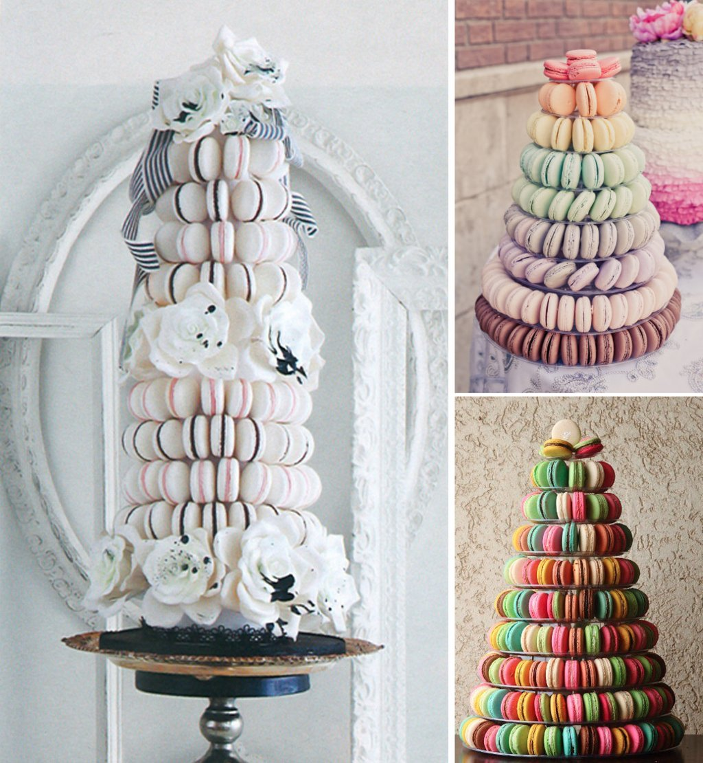 Tasty-wedding-cake-alternatives-for-a-unique-reception-macaron-tower.full
