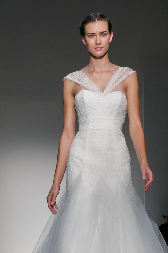 Fall 2013 Wedding Dress by Christos Amsale bridal 7