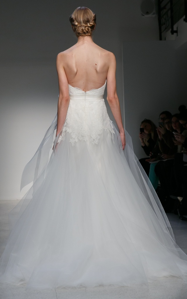 photo of Light as a Feather & Breathtakingly Beautiful: Wedding Dresses by Christos, Fall 2013