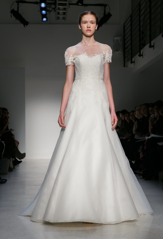Fall 2013 Wedding Dress by Christos Amsale bridal 3