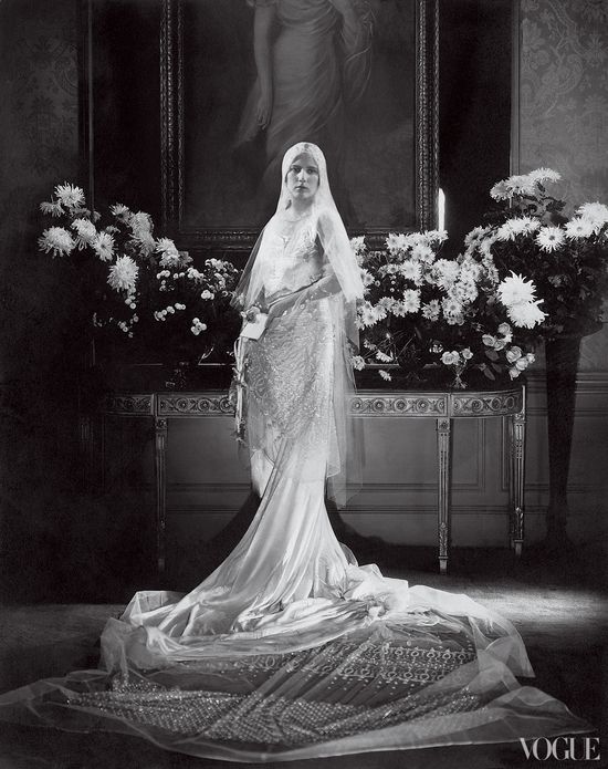 Wedding Fashion by Vogue brides through history 1