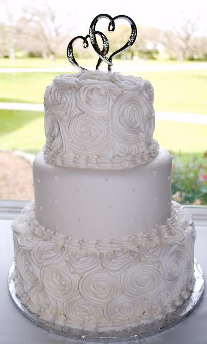 Rosette Wedding Cake Onewed Com