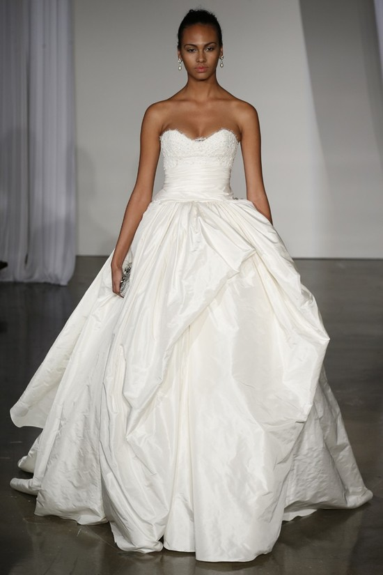 Fall 2013 wedding dress Marchesa bridal 16